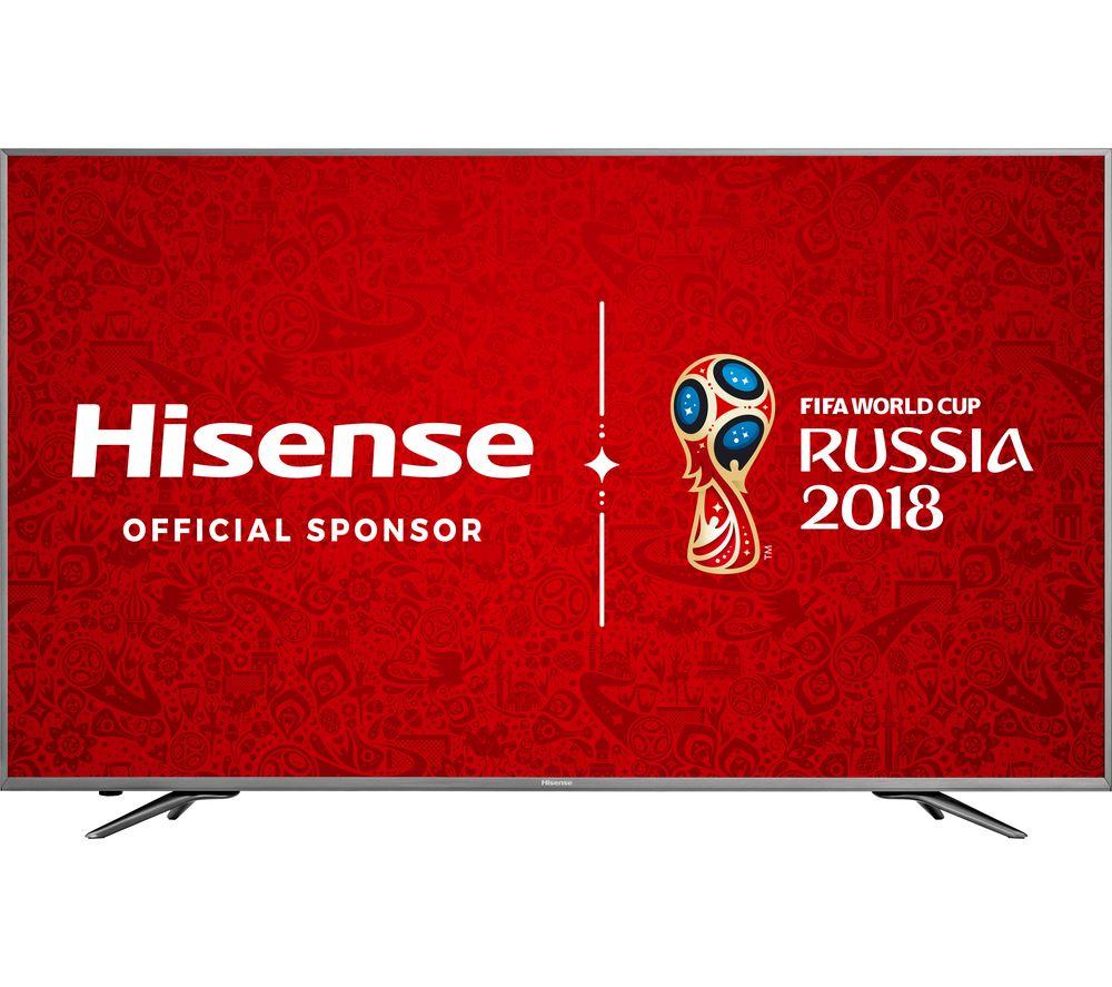 """HISENSE H65N6800UK 65"""" Smart 4K Ultra HD HDR LED TV at Currys - £798.97"""