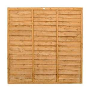 4 Day Deals - Overlap Fence Panel -  6ft x 5ft £18 / 6 x 6ft - £19 + 10 year anti-rot guarantee /  Keter Store It Out Max (1200L) £95 / McCulloch Petrol Lawnmower £130 + more @ Wickes