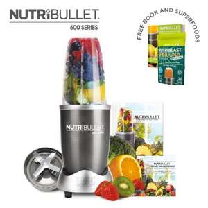 NutriBullet 600 Series 5 Piece Set £42.49 with code @ High street TV