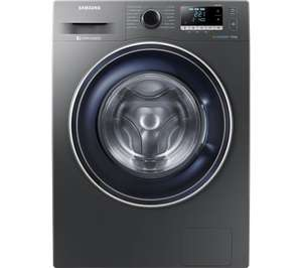 SAMSUNG ecobubble WW90J5456FX 9 kg 1400 Spin Washing Machine - Graphite £379 @ Currys