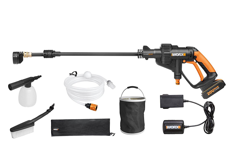 WORX WG629E.1 18V 20V MAX Cordless HYDROSHOT Portable Pressure Cleaner - £99.99 @ Amazon