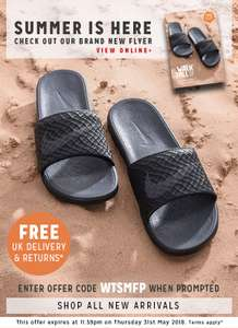 Free Standard UK Delivery with Code @ Walk Tall