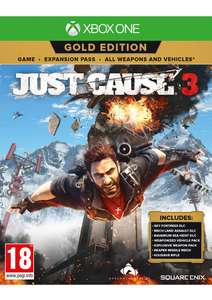 Just Cause 3 Gold Edition (Game+Season Pass) £12.85 Delivered @ Simply Games