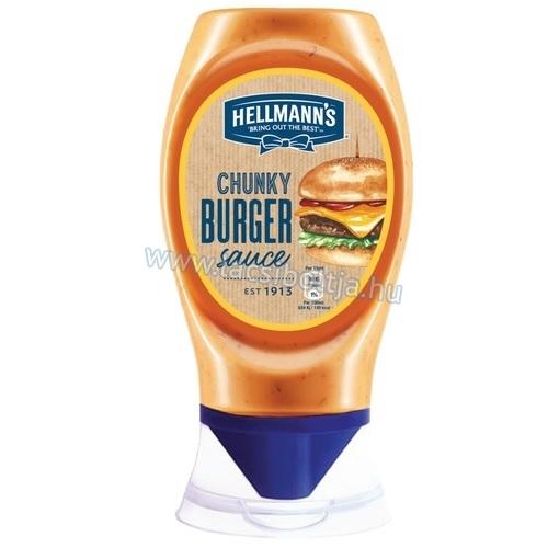 Iceland - Hellman's Chunky Burger Sauce £1