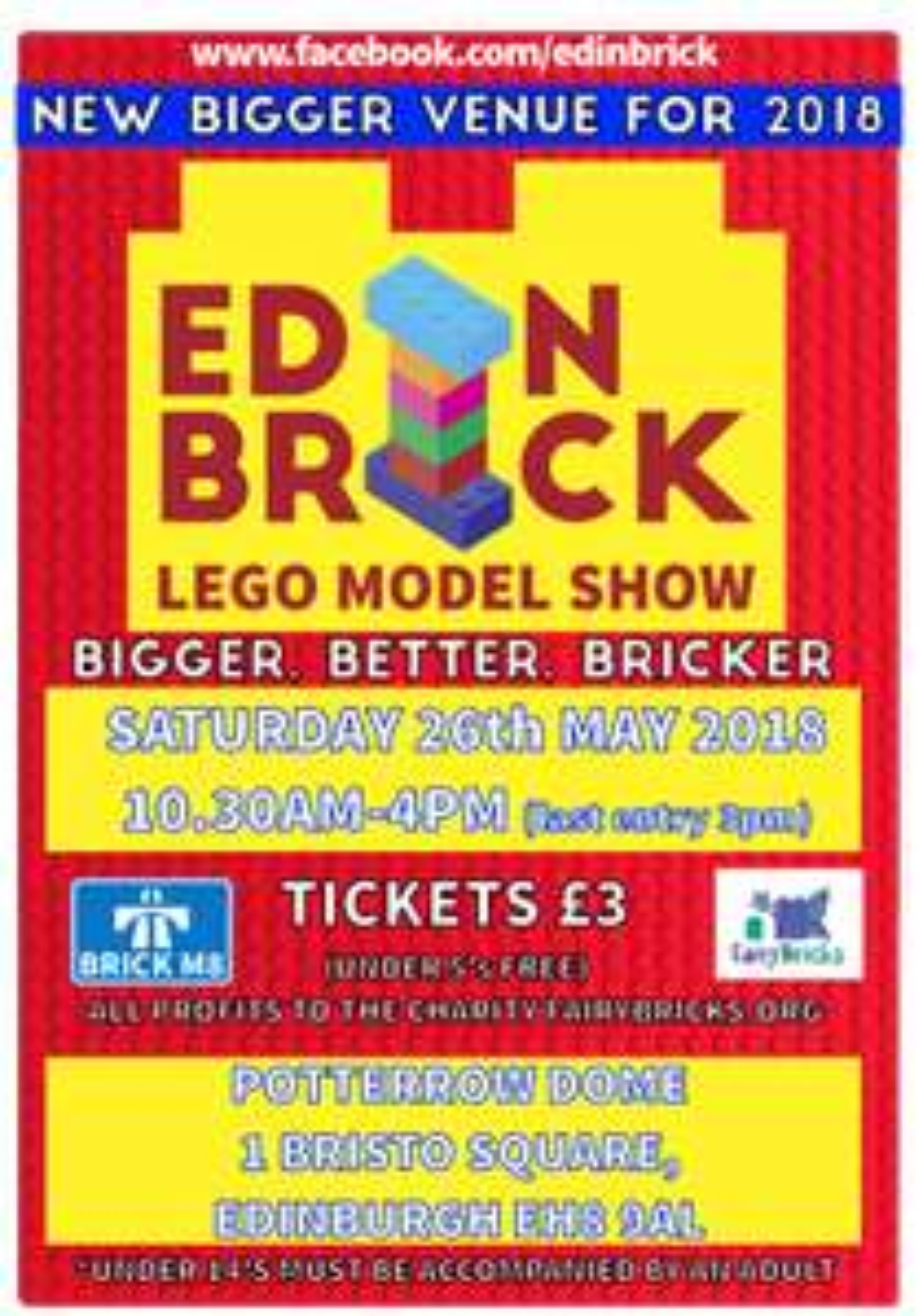 Edinburgh LEGO Model Show tickets £3