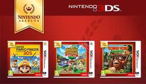 3 NEW Nintendo Selects to Preorder @ Nintendo UK £15.99 (+ a delivery cost)