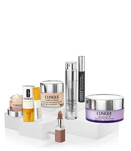 The Clinique Hero's Collection + 1 Free Treat & Bonus 6 Samples or Bonus 1 Full-Size Selected Product
