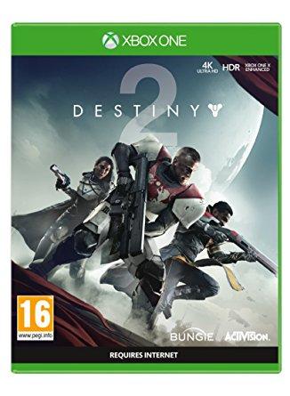 Destiny 2 with Salute Emote Xbox One Game £11.84 Prime £13.83 Non Prime @ Amazon