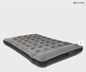 Deluxe Flocked Double Airbed with Pump @millets £12 (single £8) plus £1 C&C to jdsports group