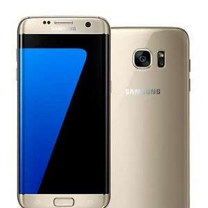 Grade A boxed All Accessories - Samsung Galaxy S7 Edge 32GB SIM-Free Smartphone in Gold @ Telephones Online