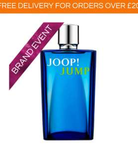 Joop! Jump Eau de Toilette Spray 200ml @ AllBeauty for £19.95 + £1.95 Delivery. Was £75 Free delivery over £20