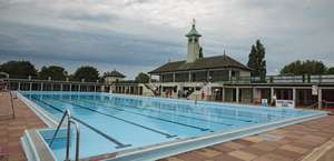 Peterborough Lido - Free entrance for all today only .