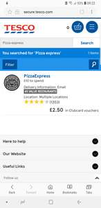 Tesco Clubcard 4x points value. Cafe Rouge, Hampton Court Palace, Lightwater Valley, London Zoo, Paradise Wildlife Park, Pizza Express, Prezzo, Shakespeare's Globe, Tower of London before June 10th (3x after)