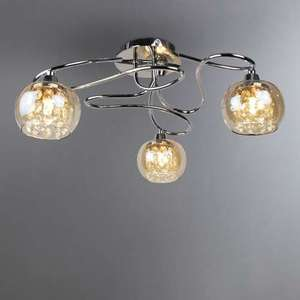 Seychelles chrome 3 light ceiling fitting now 1375 at dunelm seychelles chrome 3 light ceiling fitting now 1375 at dunelm free cc mozeypictures Gallery