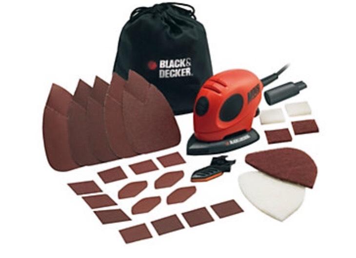Black & Decker detail 55w Sander with accessories £18 @ B&Q C&C ( was £28 )