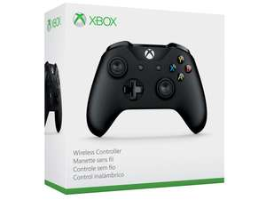Official Xbox Wireless Controller - Black £23.99 + £3.99 p&p @ Amazon Prime Now