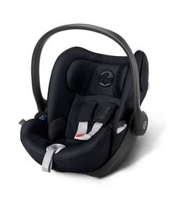 Cybex Cloud Q 0+ Lie Flat Car Seat In Stardust Black - Mamas & Papas Bank Holiday Sale! - £135 Delivered