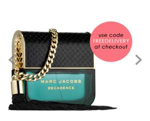 MARC JACOBS Decadence Eau De Parfum 50ml @BeautyBase for £36.99 Free delivery with code FREEDELIVERY and free sample