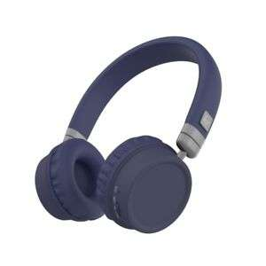KitSound Harlem Wireless Bluetooth On-Ear Headphones With Microphone Blue £18.99 at Vodafone Stores EBAY