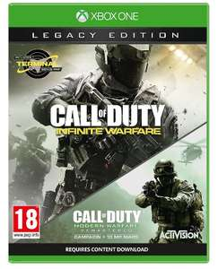 Call of Duty: Infinite Warfare Legacy Edition Xbox one £10 @Tesco Direct