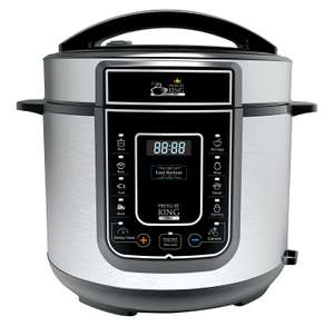 Pressure King Pro 5 Litre 12-in-1 Digital Electric Pressure Cooker - £49.99 @ Amazon