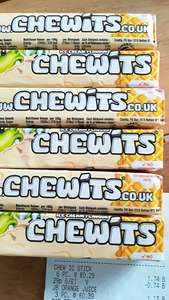 6 packets of Chewits for £1 (180g) @ Fulton Foods