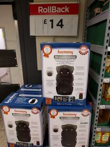 Harmony Dreamtime Booster Seat (Carcroft Asda) - £14 instore