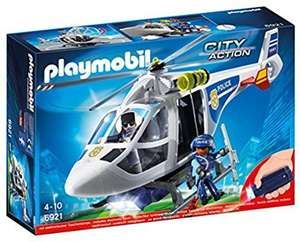 Playmobil 6921 LED Light Up Police Helicopter City Action @ Amazon - £12.49 Prime / £16.44 non-Prime
