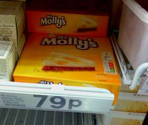 Tesco Ms Molly's Lemon Swirl Cheesecake only 79p (frozen)
