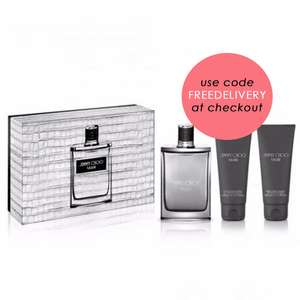 Jimmy Choo Man EDT 100ml, Shower Gel 100ml & After Shave 100ml Gift Set £37 delivered w/code at BeautyBase