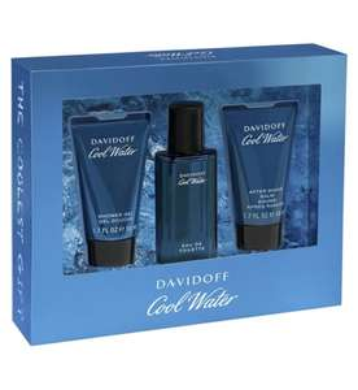 Davidoff Cool Water Man Eau de Toilette 40ml gift set £13.05 @ Boots - Free C&C