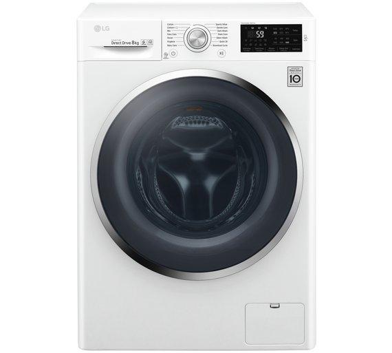 LG W5J6TN2W 8KG 1400 Spin Washing Machine - White - £329.99 @ Argos