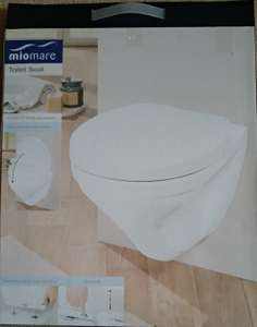 BARGAIN - Toilet loo seat (white) 3yr guarantee from Lidl - £12.99