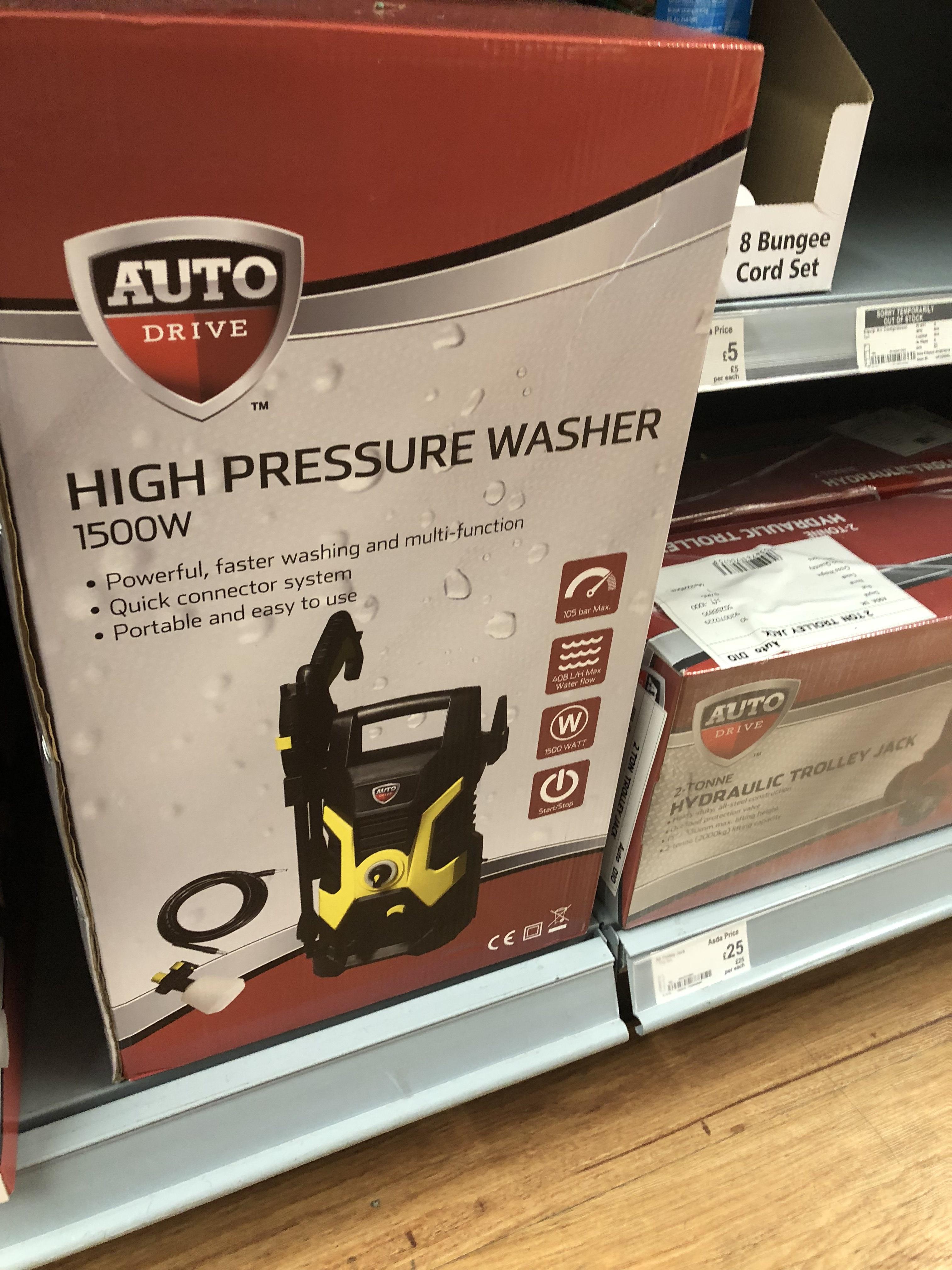 Auto Drive Asda Pressure Washer - £40 instore @ Asda (Sheffield)