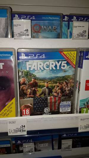 Farcry 5 - £34 instore & online @ ASDA