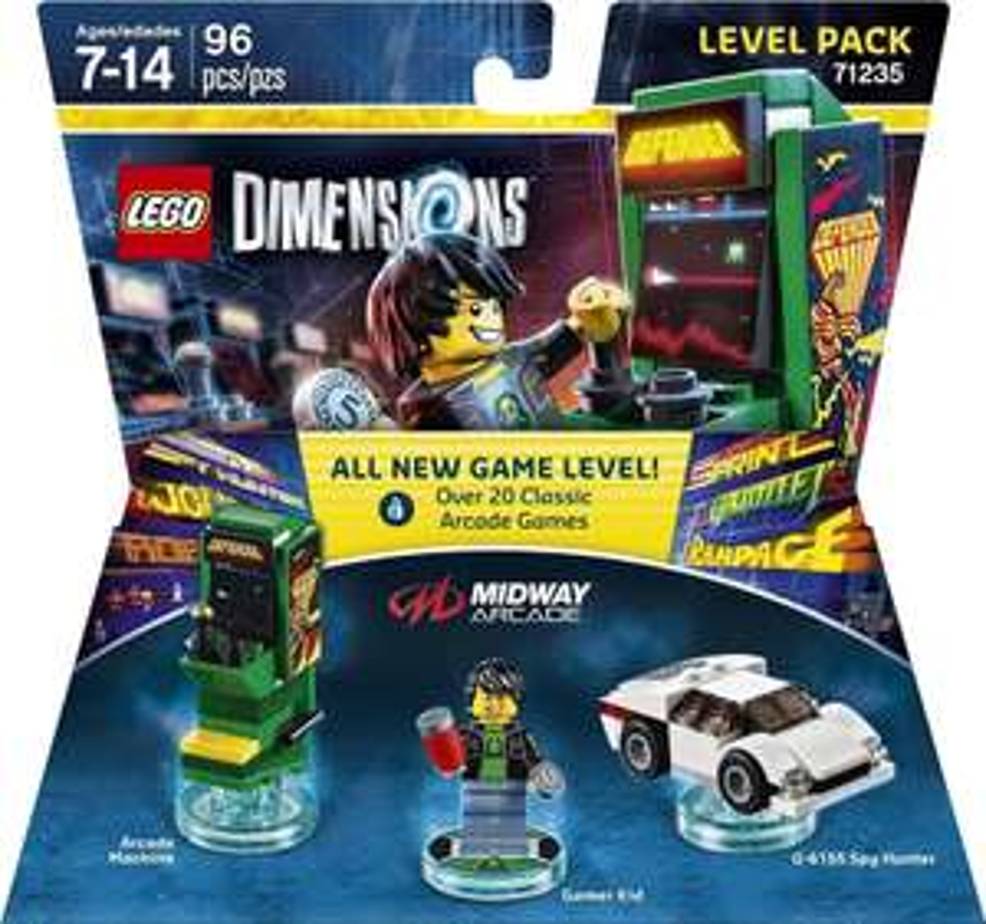 Lego Dimensions - Level Packs at Smyths for £14.99