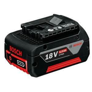 Bosch 5ah battery £54 (poss £15 cash back making it £39) at Power Tool World
