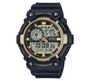 black and gold casio watch Model number aeq-200w-9avef at Argos Ebay for £25.99