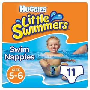 Huggies Little Swimmers swim nappies - 2 packs for £6 @ Tesco online or in store
