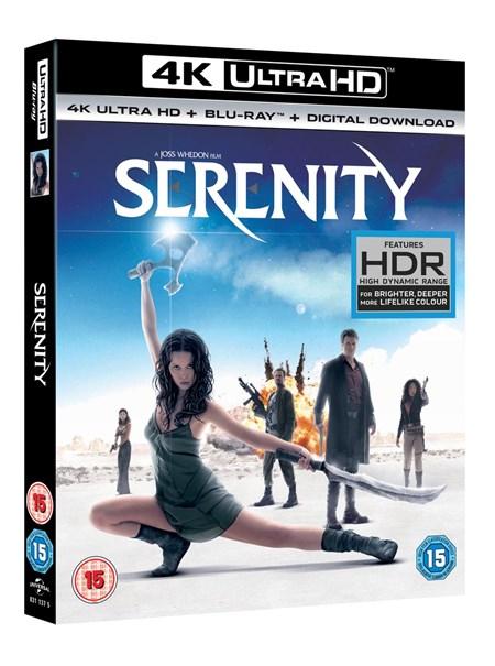 Serenity 4k blu ray £9 @ Zoom