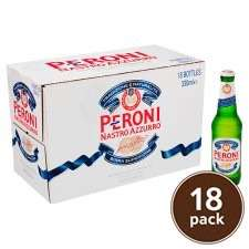 Peroni 18 pack 330ml £7.58 - Tesco Stourbridge