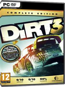 Dirt 3 - Complete Edition PC (Steam Key) £2.65 @ mmoga
