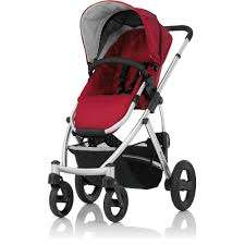 Britax Römer SMILE Silver Chassis/Red or Navy Add Carrycot Red/Navy or Black £294.50 @ Boots