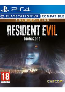 Resident Evil 7 Gold Edition [PS4] £22.85 @ SimplyGames