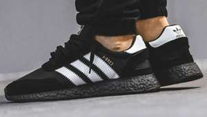Adidas Iniki boost - black and white £69 @ End Clothing