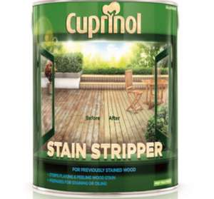 Cuprinol Stain Stripper for Decking £12 @ Dulux Decorating Centre 2.5l
