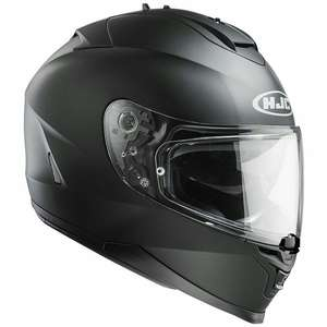 HJC IS-17(5 star Sharp safety rating) Matt black motorbike helmet £127.99 @ SportsBikeShop