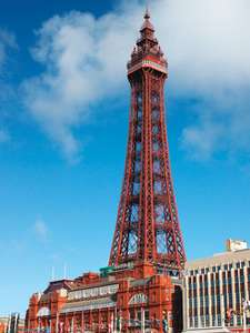 Light up the Blackpool Tower - £500 (perhaps free for charities, tbc)