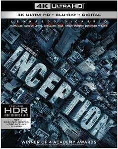 Inception 4K Ultra HD £15.63 @ WOWHD - Free Delivery