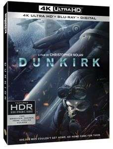 Dunkirk 4K Ultra HD £15.53 @ WOWHD - Free Delivery